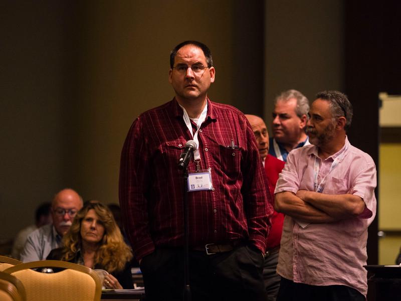 Nomi Prins speaks during Keynote lecture