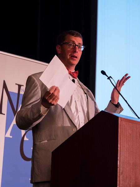 Edward C. Boltz, NACBA President speaks during Friday opening session