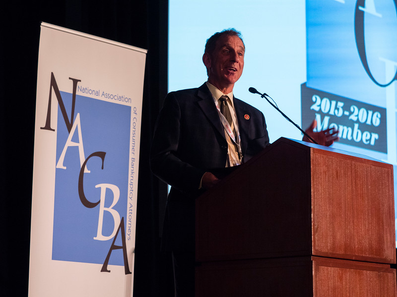 Sen. Robert Wieckowski, California Senate District 10, speaks during Friday's opening session