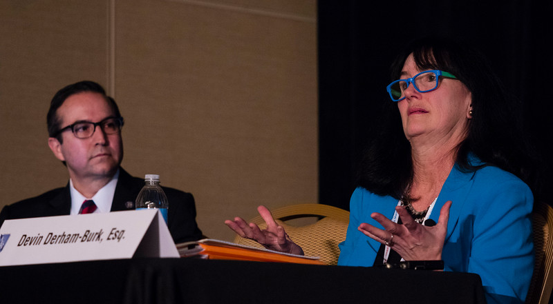 """Speakers and attendees during """"Staying Awake at the Wheel: Chapter 13 Post-petition Issues"""" at Saturday sessions"""