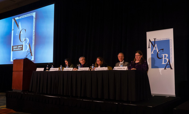 """Speakers and attendees during the """" National Updates and Insights"""" at Saturday sessions"""