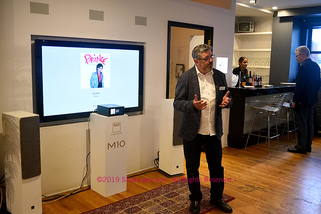 Greg Stidsen talks about MQA and high-res streaming with Tidal and Qobuz through the NAD M10