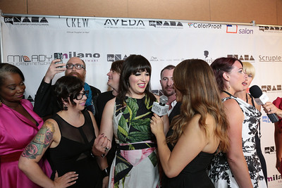 NAHA finalists at the 2013 NAHA red carpet