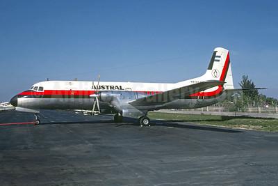 Austral Líneas Aéreas NAMC YS-11A-309 LV-JIJ (msn 2087) MIA (Christian Volpati Collection). Image: 948928.