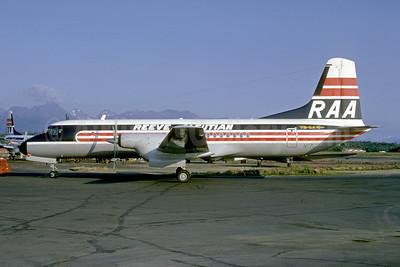 Reeve Aleutian Airways-RAA NAMC YS-11A-623 N172RV (msn 2172) ANC (Bruce Drum). Image: 102332.