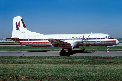 American Eagle Airlines (2nd)-Simmons Airlines NAMC YS-11-125 N902TC (msn 2042) ORD (Dave Campbell). Image: 902267.