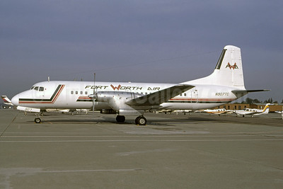 Fort Worth Air NAMC YS-11A-208 N907C (msn 2066) OAK (Thomas Livesey). Image: 947823.