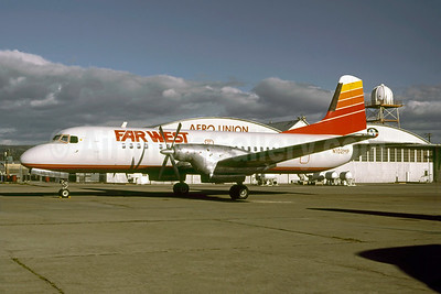 Far West Airlines NAMC YS-11-101 N102MP (msn 2004) CIC (Thomas Livesey). Image: 947226.