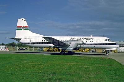 Gambia Airways NAMC YS-11-111 C5-GAB (msn 2024) SEN (Richard Vandervord). Image: 951546.
