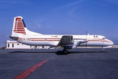 Alcon Servicios Aéreos NAMC YS-11A-306 (F) XA-TND (msn 2073) (Augusto Gomez Rojas - Bruce Drum Collection). Image: 951872.