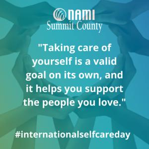 Copy of International Self Care Day insta