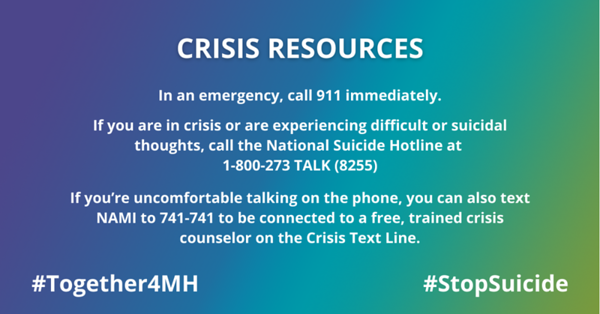Crisis Resources September