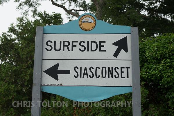 Surfside & Siasconset Sign