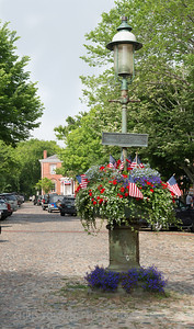 Main Street On Fourth of July