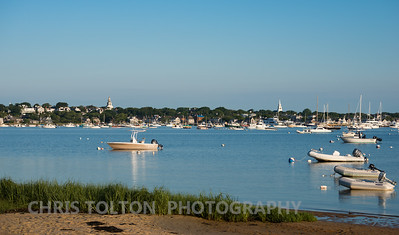 View of Nantucket from Monomoy Beach