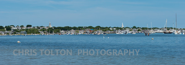 Town of Nantucket from Monomoy