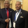 Congressman Danny Davis (left) and Dearborn Realtist Chapter President Tracey Taylor