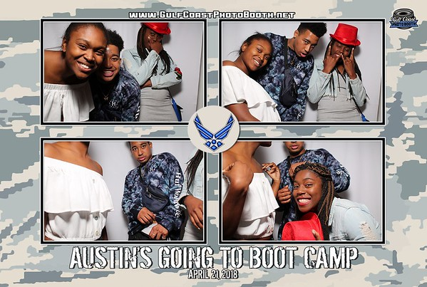 Justin's Air Force Boot Camp Party