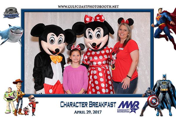MWR Character Breakfast 2017