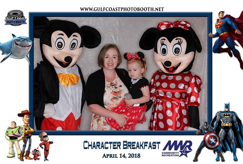 005 - MWR Pensacola Character Breakfast 2018 -