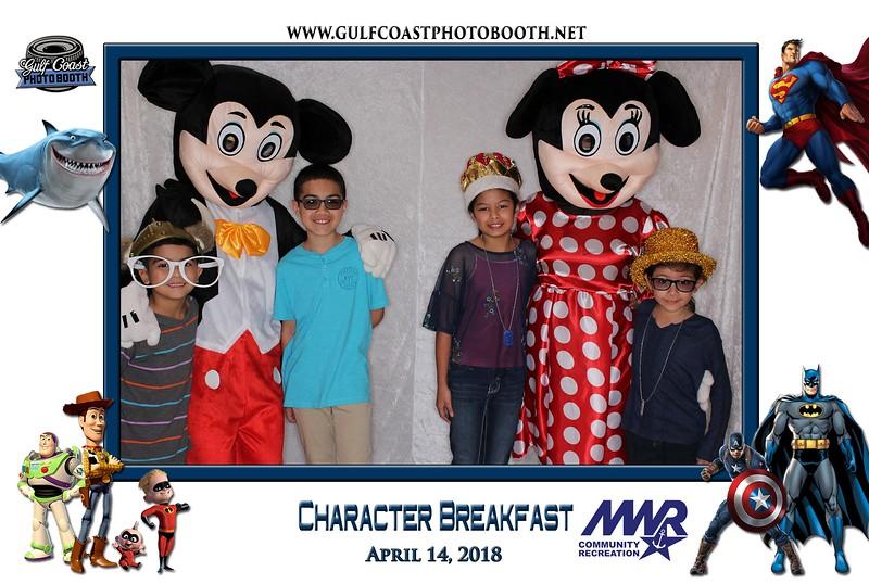 007 - MWR Pensacola Character Breakfast 2018 -