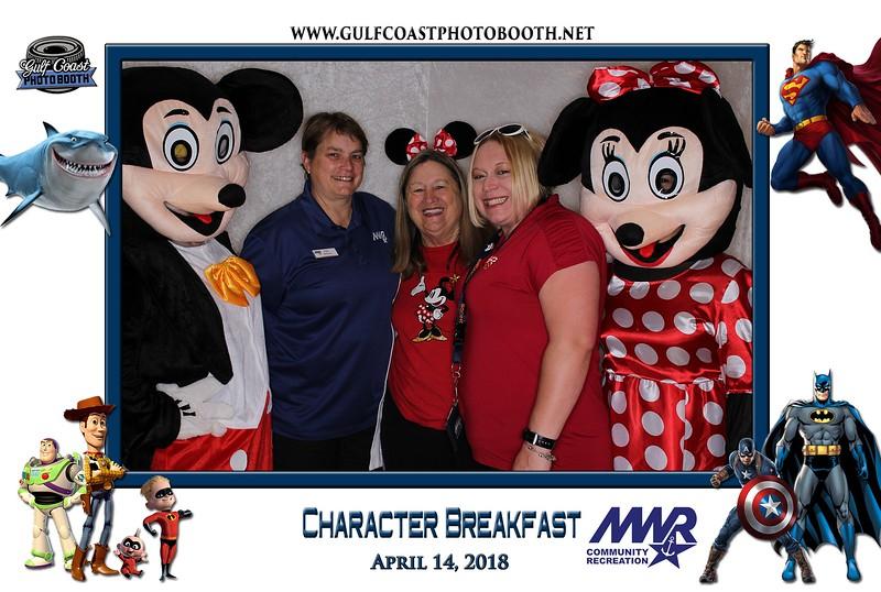 001 - MWR Pensacola Character Breakfast 2018 -