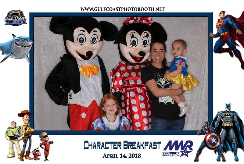 003 - MWR Pensacola Character Breakfast 2018 -