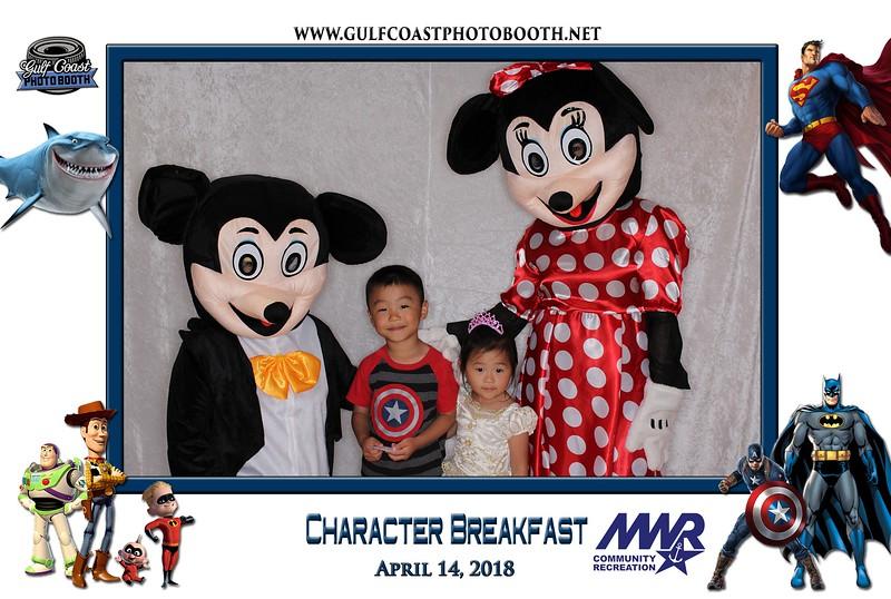 006 - MWR Pensacola Character Breakfast 2018 -
