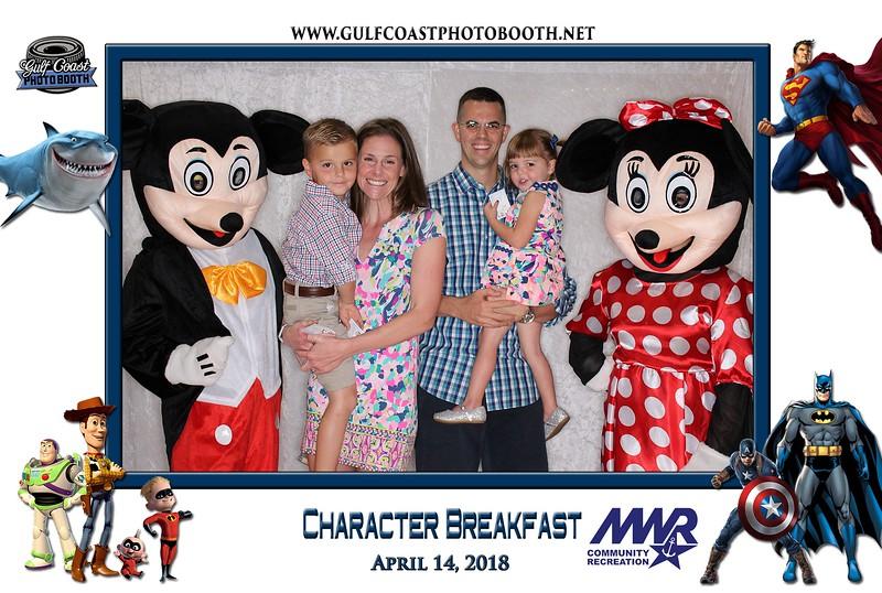 010 - MWR Pensacola Character Breakfast 2018 -