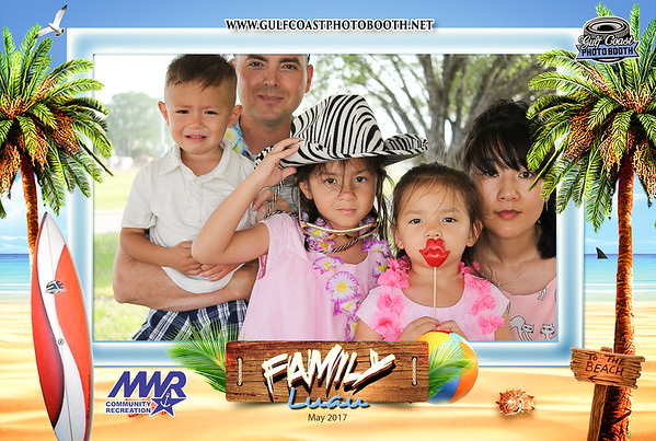 MWR Family Luau 2017 Photo Booth Prints