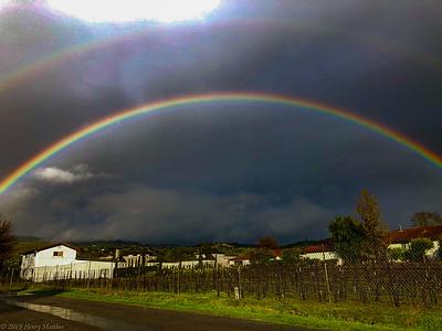 gay's dual rainbows