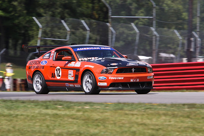 AI #12 Mustang @ Mid-Ohio, August 2013