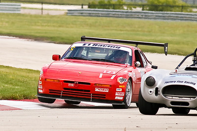 GTS2 #123 Porsche 944 in action at Autobahn Country Club 2010
