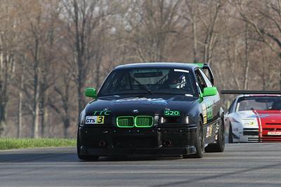 GTS3 #520 BMW @ Mid-Ohio, April 2015