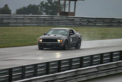 HPDE #64 Mustang @ PIRC, July 2014