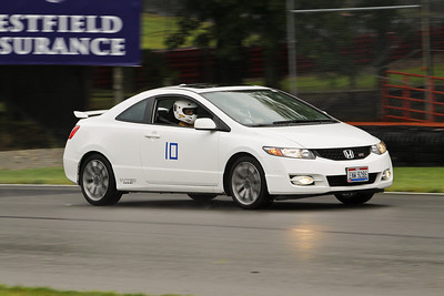 HPDE #10 Honda Civic Si in Action @ Mid-Ohio, July 2010