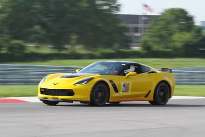 HPDE #206 Corvette @ NCM Motorsports Park, July 2015
