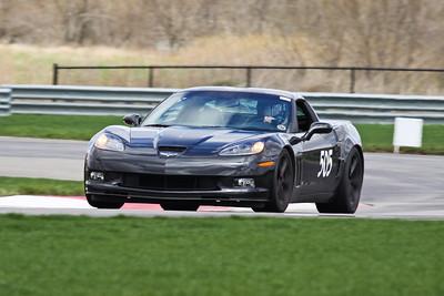 HPDE #505 Corvette in Action @ Autobahn, April 2013