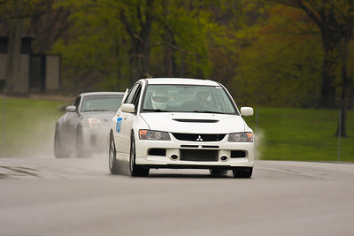 HPDE #707 Evo @ Mid-Ohio, April 2012