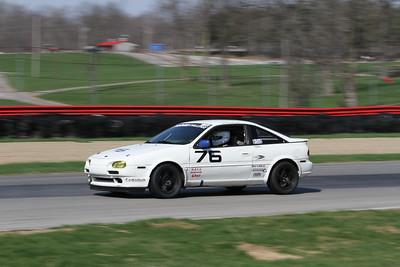 HPDE #76 Nissan NX2000 @ Mid-Ohio, April 2015