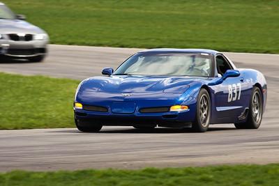 HPDE #837 Corvette in Action @ Autobahn, April 2013