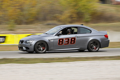 HPDE BMW #838 in Action @ Road America, October 2012