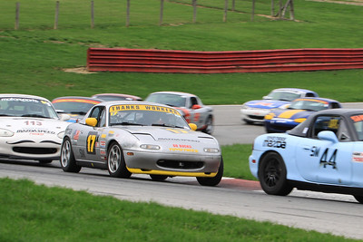 Spec Miata #17 @ Mid-Ohio, April 2015