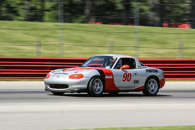 Spec Miata #90 @ Mid-Ohio, June 2014