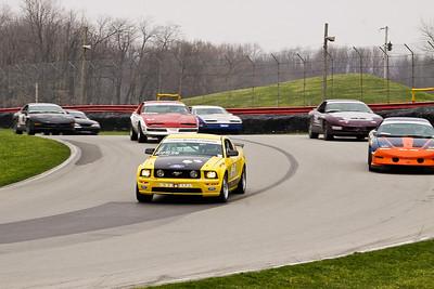 Steeda Mustangs, April 2011 @ Mid-Ohio