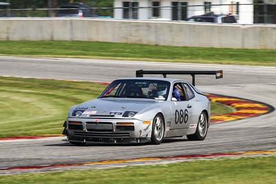 TT3 #086 Porsche 944 @ Road America, August 2014
