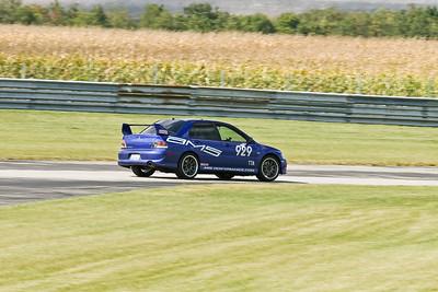 TTA #929 Evo IX in action @ Autobahn Country Club, September 2010
