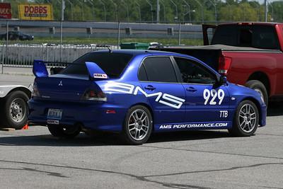 TTA #929 Evo IX in action @ Gateway International Raceway, April 2010