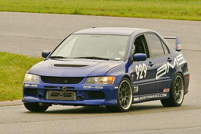 TTA #929 Evo in action @ GingerMan Raceway, August 2010