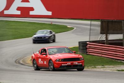 TTB #411 Mustang @ Mid-Ohio, April & June 2015